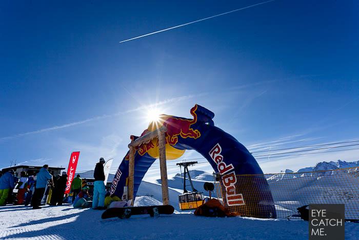 Der Event Fotograf eyecatchme hat das Foto bei der Deutschen Halfpipe Meisterschaft in Oberstdorf gemacht