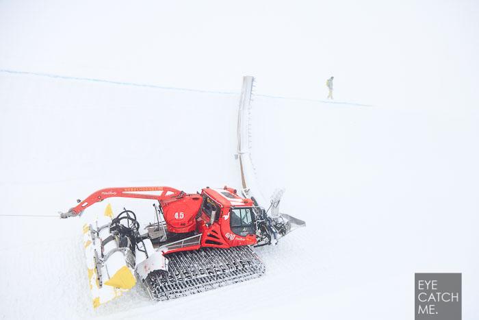 Diese Foto von Fotograf Eyecatchme zeigt die Dimensionen der Halfpipe am Nebelhorn