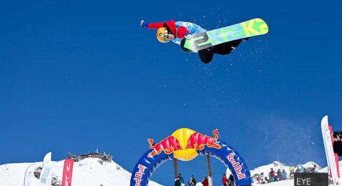 Fotoreportage der Deutschen Snowboard Meisterschaft in der Halfpipe 2012