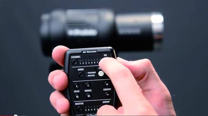 Die Fotograf gibt jedem Fotografen die möglichkeit einfach und schnell die Lichtstärke der Blitze im Fotostudio zu verändern