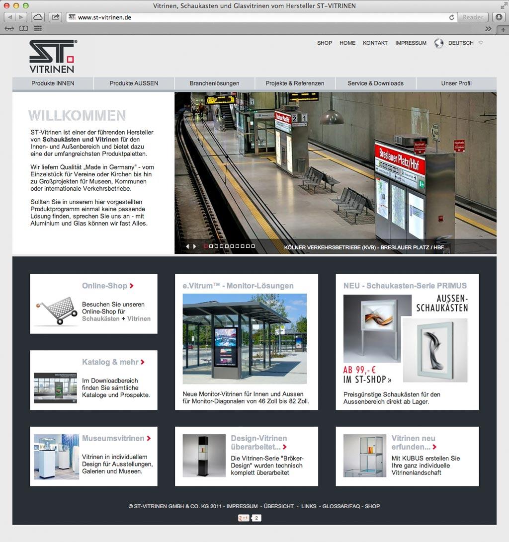 architektur und produktfotos f r die firma st vitrinen in k ln. Black Bedroom Furniture Sets. Home Design Ideas