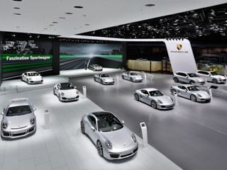 Porsche – Messestand IAA