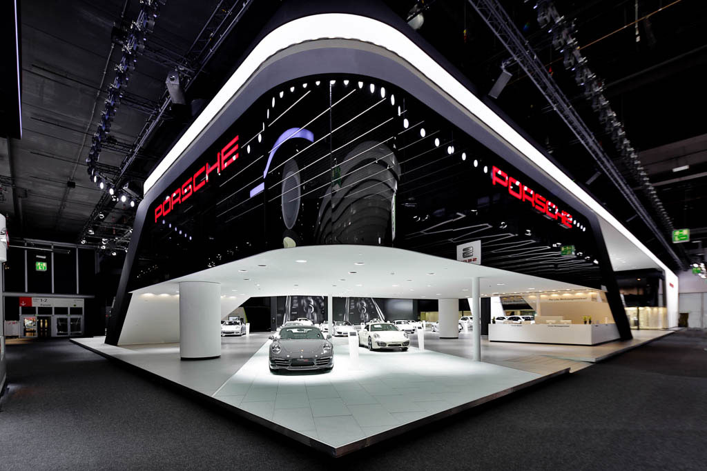 porsche messestand iaa eyecatchme photography. Black Bedroom Furniture Sets. Home Design Ideas