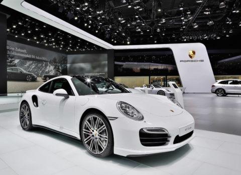 Porsche – Messestand IAA