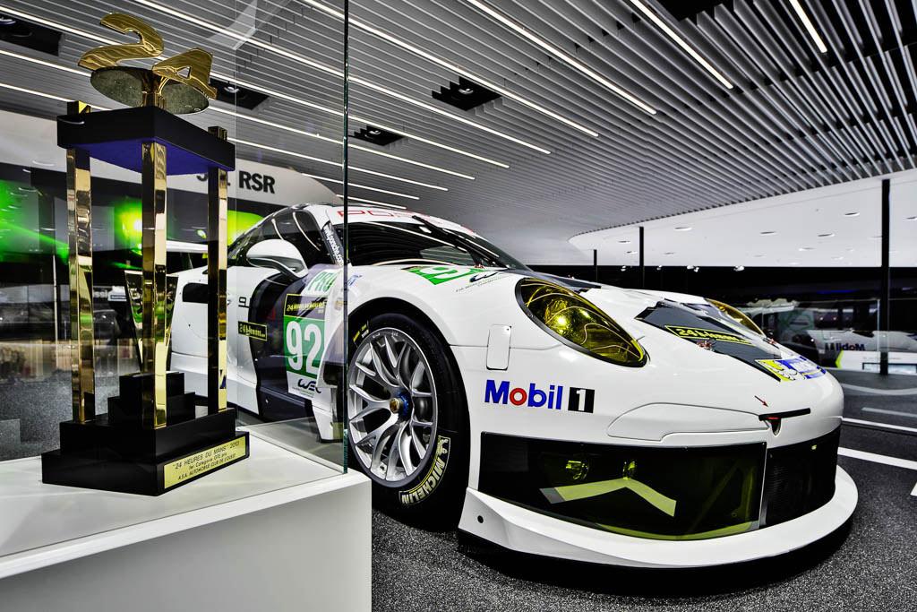 In der Motorsport Abteilung stand das original Siegerauto vom diesjährigen Le Mans Rennen, ein Highlight auf der IAA 2013