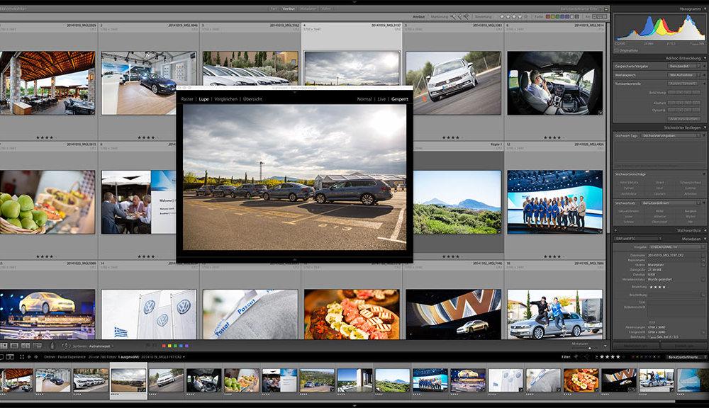 Event Dokumentation VW Passat Markteinführung