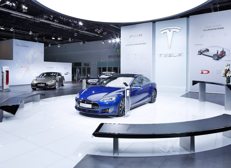 Tesla Messestand – IAA