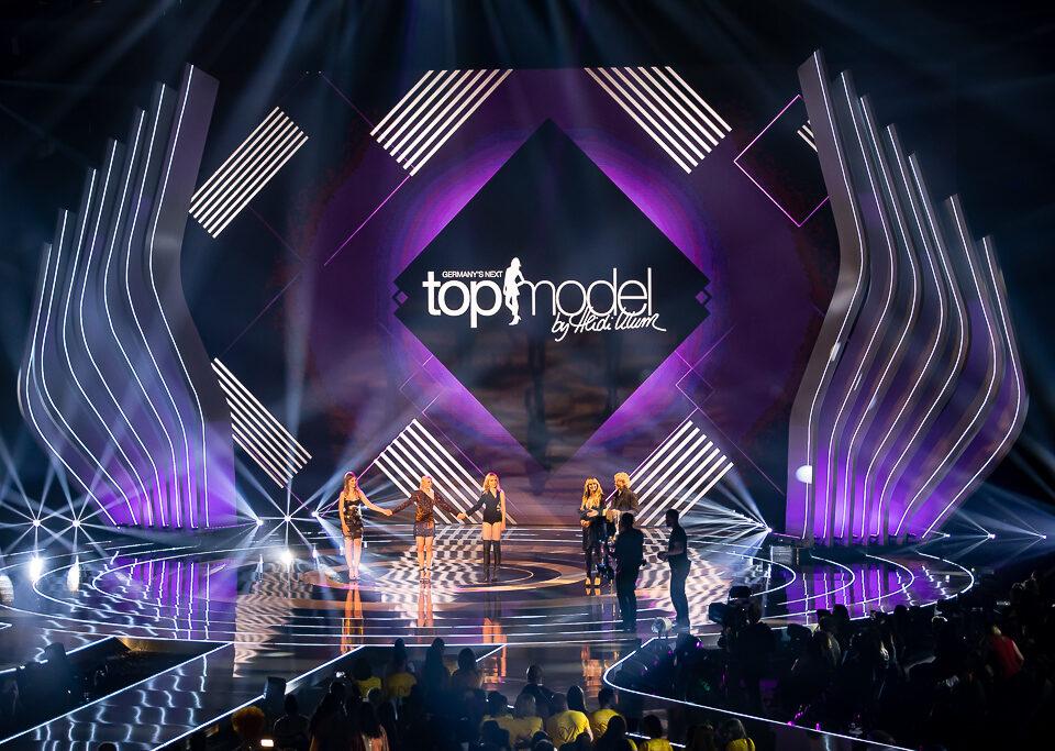 Topmodel Finale in Düsseldorf